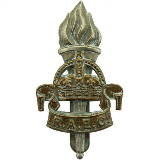 Royal Army Educational Corps RAEC WW2 Royal Army Educational Corps RAEC Cap Badge