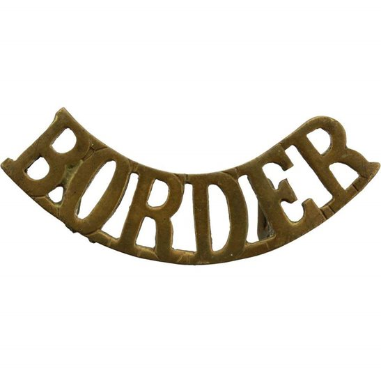 Border Regiment The Border Regiment Shoulder Title