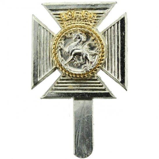 Duke of Edinburghs Royal Regiment Staybrite Cap Badge - Staybright, Anodised