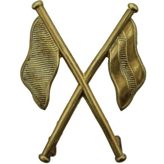 Royal Corps of Signals RCOS Regimental Signallers Proficiency in Signals Arm Trade Badge