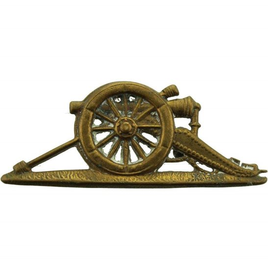 Royal Artillery Royal Artillery Regiment Sergeants NCO Arm / Sleeve Badge - Left Facing