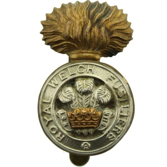 Royal Welsh Fusiliers Royal Welch Fusiliers Regiment RWF Cap Badge