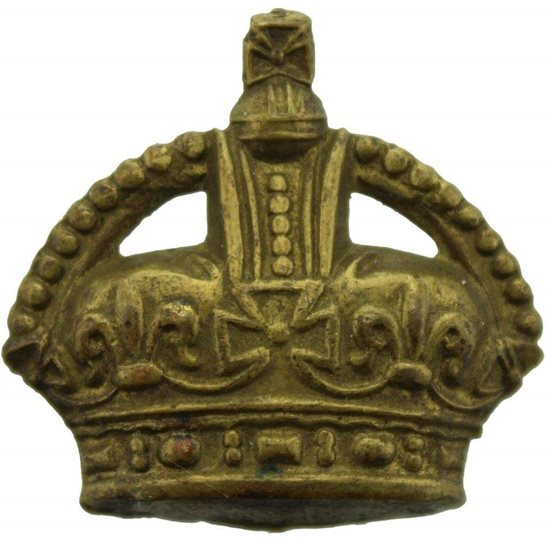 British Army Officers Insignia Crown Pips - Rank of Major