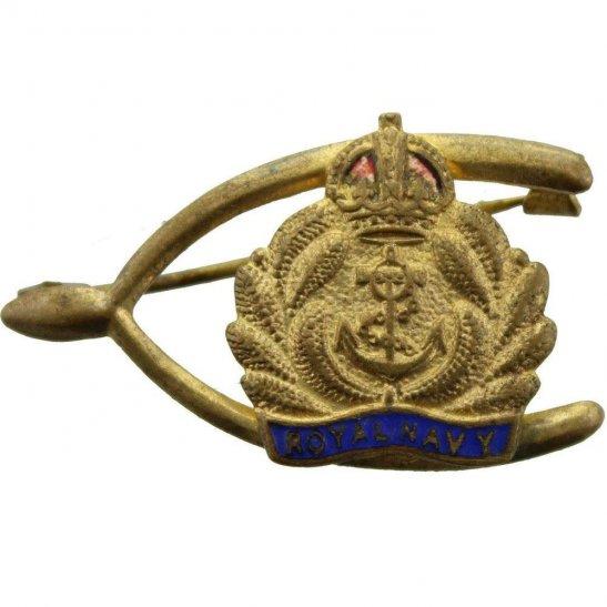 Royal Navy WW1 British Royal Navy Sweetheart Brooch