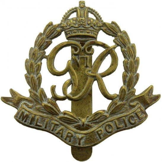Royal Military Police RMP WW2 Royal Military Police Corps RMP Cap Badge (George VI)