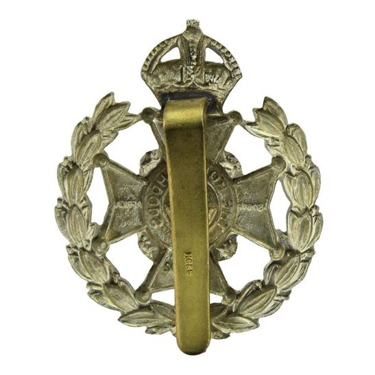 additional image for 7th Robin Hoods Battalion, Sherwood Foresters (Notts and Derby) Regiment Cap Badge - HG&S Makers Mark