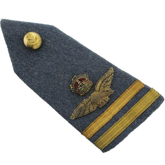 Royal Air Force RAF WW2 Royal Air Force RAF Officer Insignia Epaulettes - Rank of Air Commodore