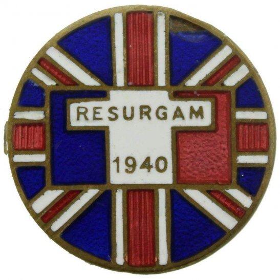 WW2 French Army WW2 Free French (Cross of Lorraine) Libre Lapel Badge