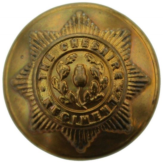 Cheshire Regiment Cheshire Regiment Tunic Button - 26mm
