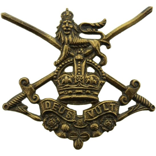 Infantry Training Battalion WW1 Infantry Training Battalions Corps (British Army) Cap Badge