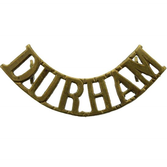 Durham Light Infantry DLI WW1 Durham Light Infantry Regiment DLI Shoulder Title