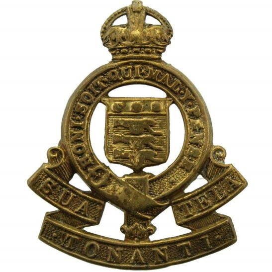 Royal Army Ordnance Corps RAOC Cap Badge - 1947 Motto Version