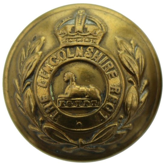 Lincolnshire Regiment WW1 Lincolnshire Regiment Tunic Button - 26mm