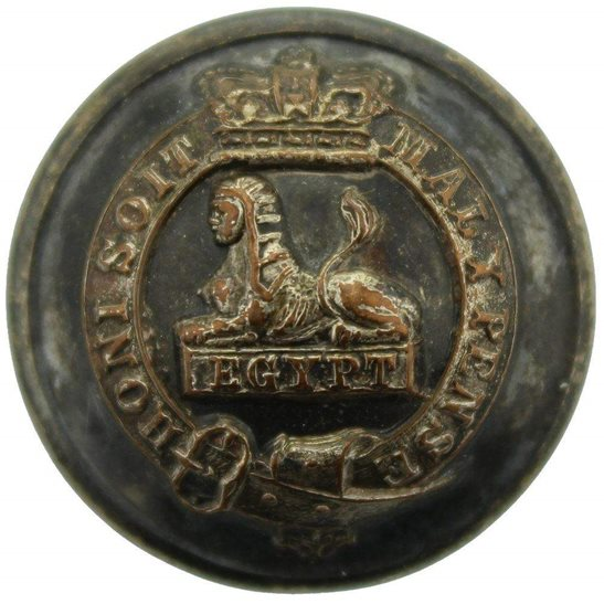 Manchester Regiment VICTORIAN Manchester Regiment Tunic Button - 26mm