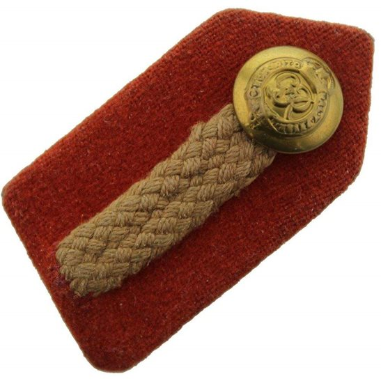 WW2 British Army, General Staff, Officers Insignia Gorget