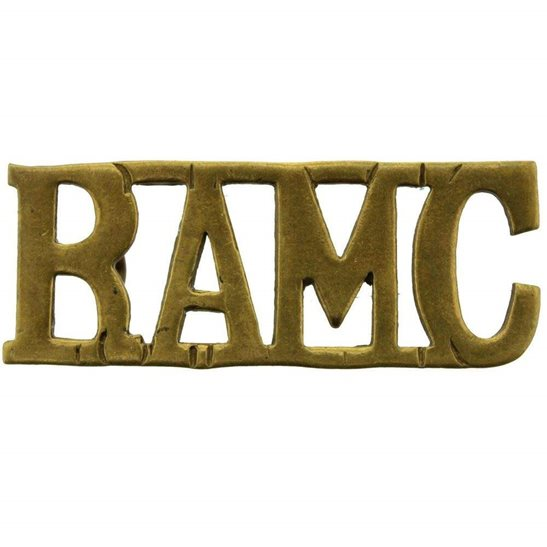 Royal Army Medical Corps RAMC Royal Army Medical Corps RAMC Shoulder Title