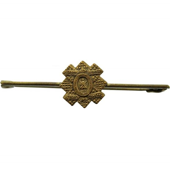 Highland Light Infantry Glasgow Highlanders, 9th Battalion HLI Regiment Sweetheart Brooch Badge