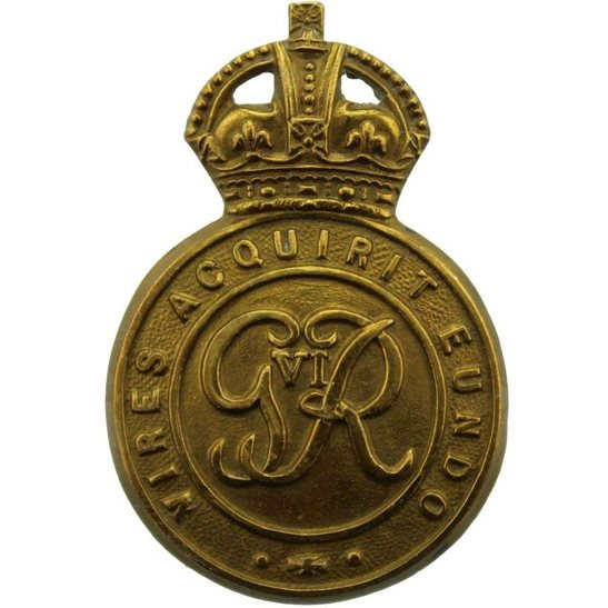 Officer Training Corps OTC WW2 Royal Military Academy Sandhurst Officers Training Corps OTC Cap Badge