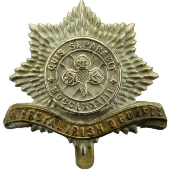 4th Royal Irish Dragoon Guards WW1 4th Royal Irish Dragoon Guards Regiment Cap Badge