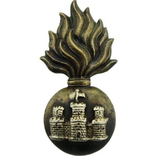 Royal Inniskilling Fusiliers Royal Inniskilling Fusiliers Regiment Irish Collar Badge