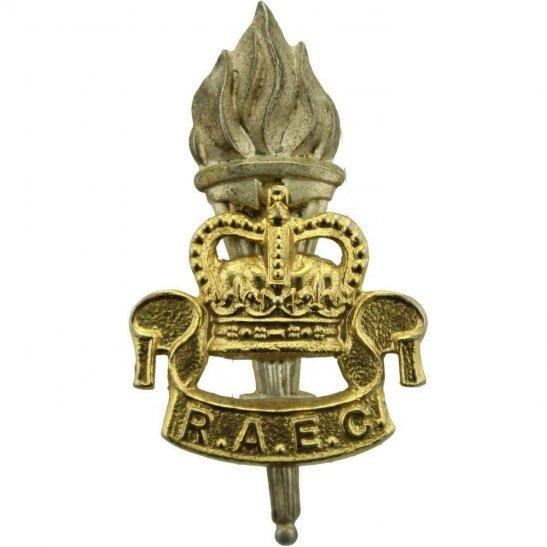 Royal Army Educational Corps RAEC Royal Army Educational Corps RAEC Cap Badge - Queens Crown