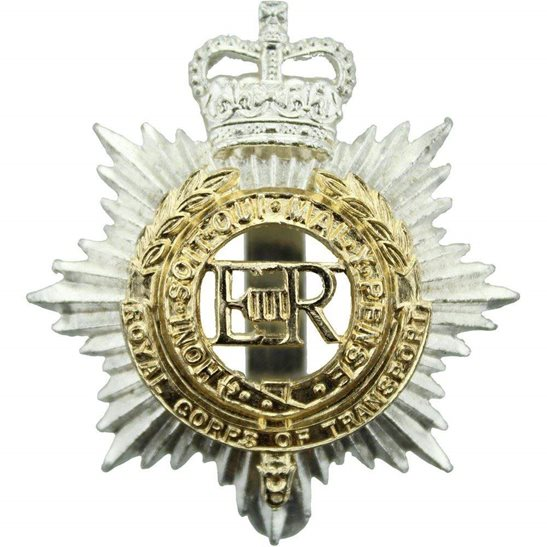 Royal Corps of Transport RCOT Royal Corps of Transport RCOT Staybrite Anodised Cap Badge - Staybright