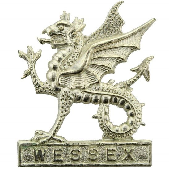 Wessex Infantry Brigade Regiment OFFICERS Cap Badge - Post 1953