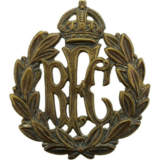 Royal Flying Corps RFC WW1 Royal Flying Corps RFC Cap Badge