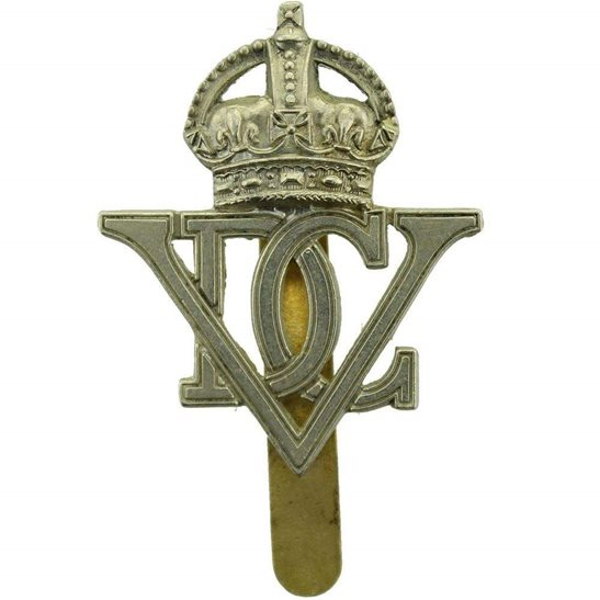 5th Dragoon Guards WW2 5th Royal Inniskilling Dragoon Guards Regiment Irish Cap Badge