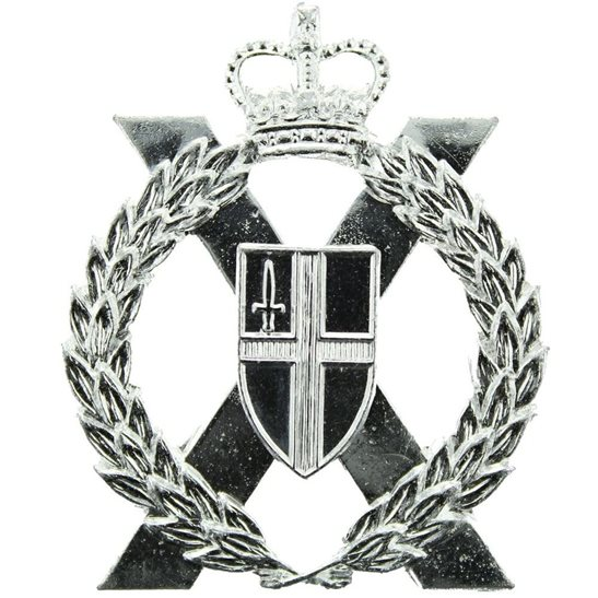 London Yeomanry & Territorials Regiment Staybrite Anodised Cap Badge - Staybright