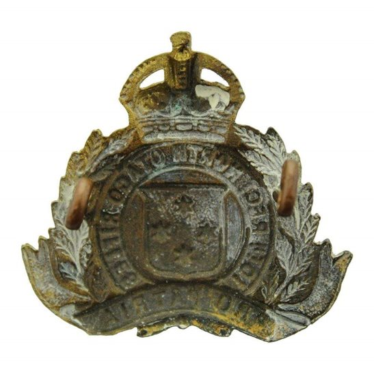 additional image for WW1 New Zealand Army 10th North Otago Rifles Regiment Cap Badge