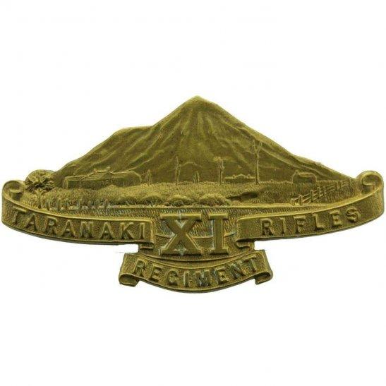 WW1 New Zealand Army WW1 New Zealand Army 11th Taranaki XI Rifles Regiment Cap Badge