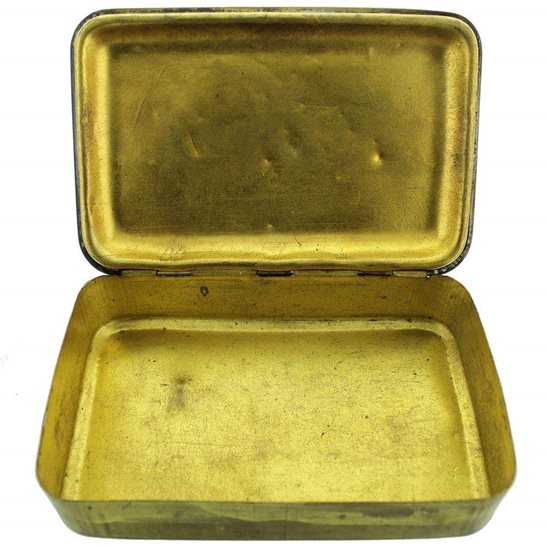 additional image for WW1 Princess Mary 1914 Christmas Gift Tin - Empty