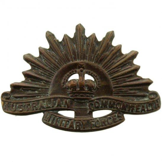 WW1 Australian Army WW1 Australian Army Division / Australia Corps Collar Badge