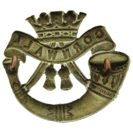 additional image for EDWARDIAN Duke of Cornwalls Light Infantry DCLI (Cornwall's) Regiment Cap Badge - LUG VERSION