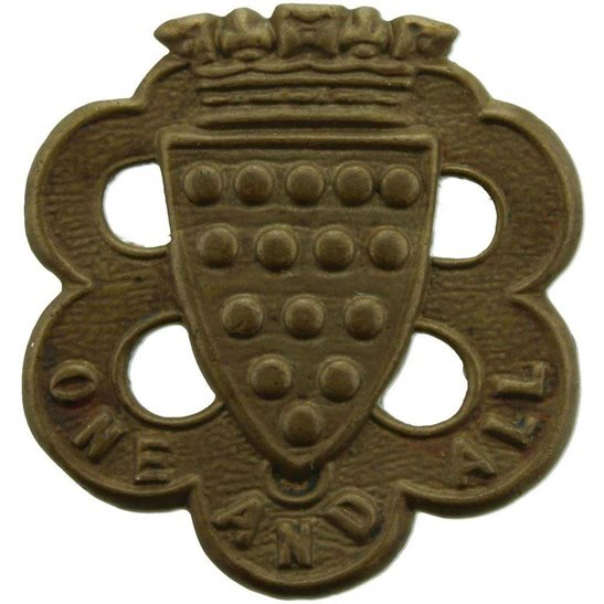 Duke of Cornwalls Light Infantry DCLI Duke of Cornwalls Light Infantry Regiment (DCLI) Cornwall's Collar Badge