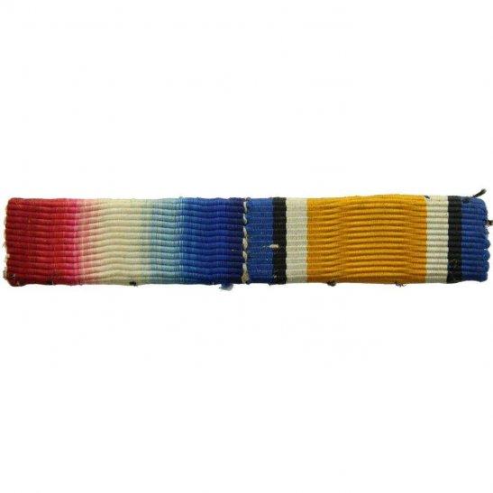 WW1 Pair (1914/15 Star & British War Medal) Ribbon Bar - SEW ON STYLE