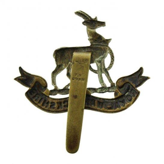 additional image for WW1 Royal Warwickshire Regiment Cap Badge - F.N. B'HAM Makers Mark