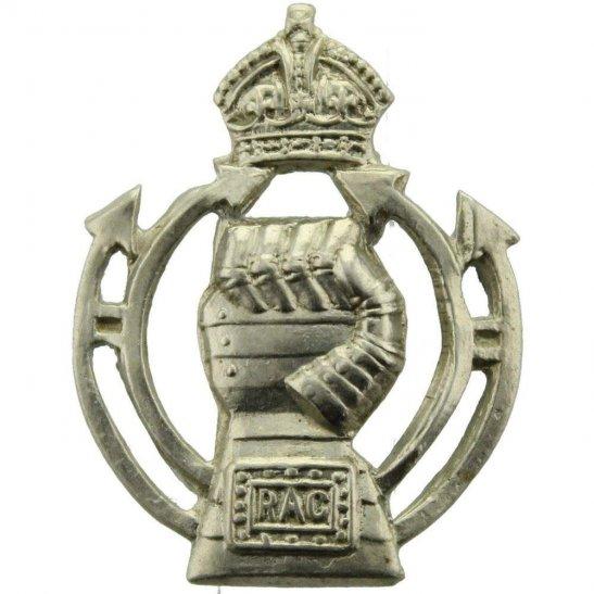 Royal Armoured Corps WW2 Royal Armoured Corps RAC Collar Badge