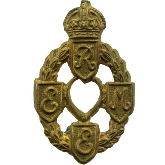 Royal Electrical & Mechanical Engineers REME WW2 Royal Electrical & Mechanical Engineers REME Collar Badge - First Pattern