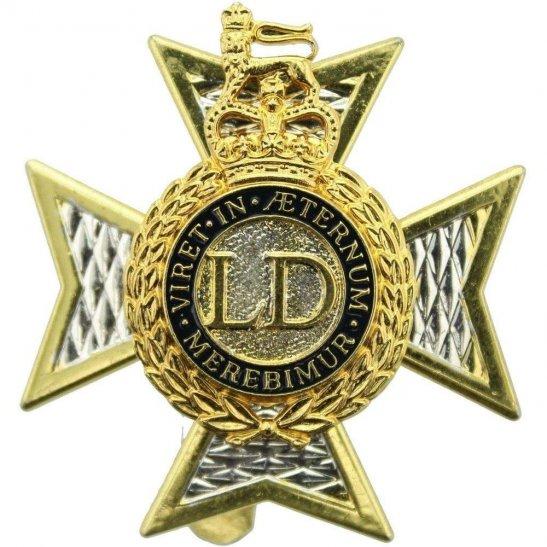 Light Dragoons Regiment Cap Badge - Queens Crown