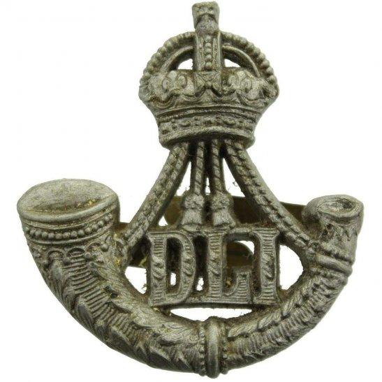 Durham Light Infantry WW2 Durham Light Infantry Regiment PLASTIC Economy Issue Cap Badge