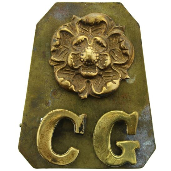 Coldstream Guards WW1 Coldstream Guards Regiment Shoulder Title