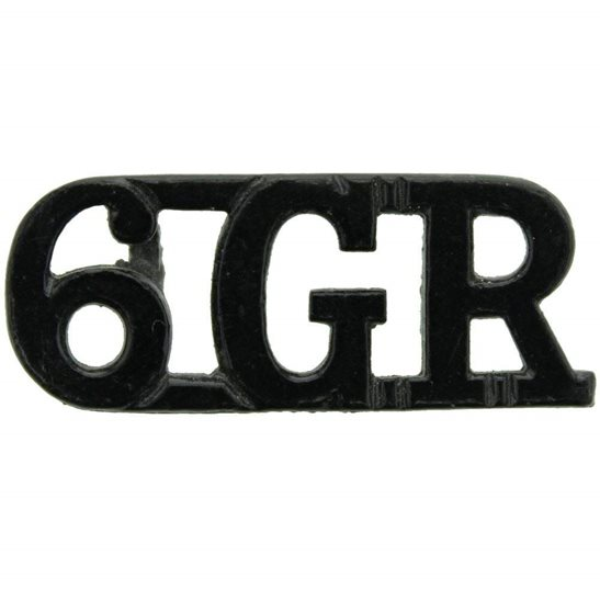 Gurkha Rifles 6th Gurkha Rifles Regiment 6GR Shoulder Title