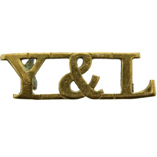 York & Lancaster WW1 York and Lancaster Y&L Regiment Shoulder Title