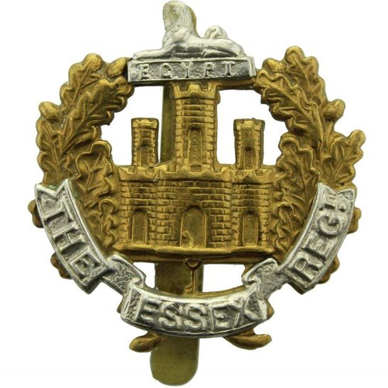 Essex Regiment WW2 Essex Regiment Cap Badge