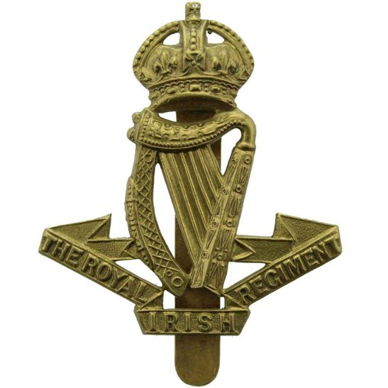Royal Irish Regiment WW1 Royal Irish Regiment Cap Badge