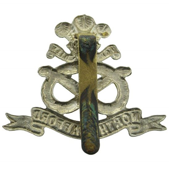 additional image for WW2 North Staffordshire (Stafford) Regiment Cap Badge