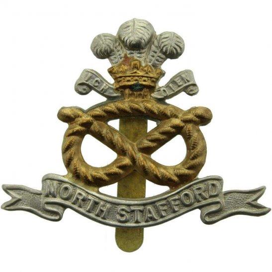North Staffordshire WW2 North Staffordshire (Stafford) Regiment Cap Badge