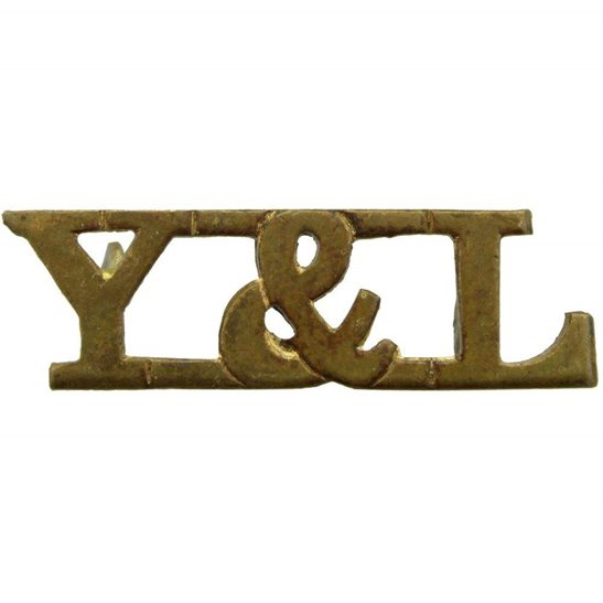 York & Lancaster York and Lancaster Y&L Regiment Shoulder Title